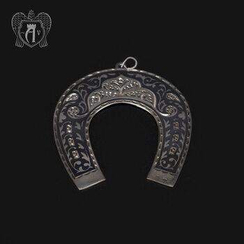 Серебряная подкова «Богатство»