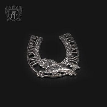 Серебряная подкова «Лошадь»