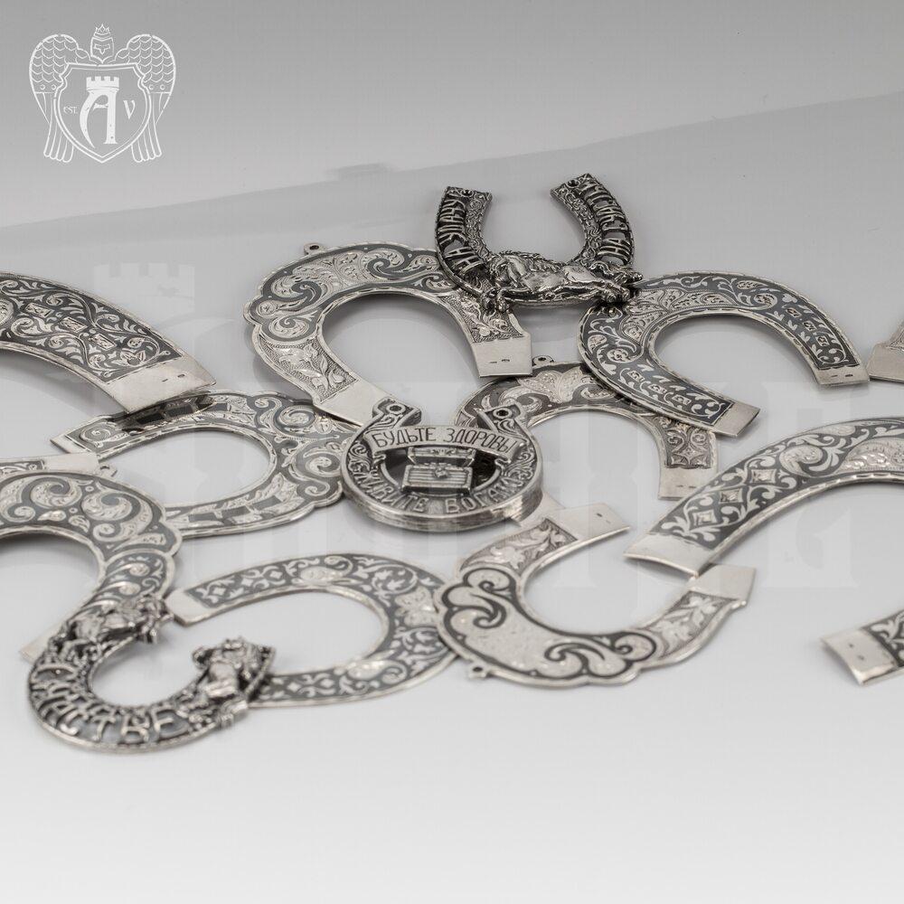 Серебряная подкова «Лошадь» Апанде, 4400010