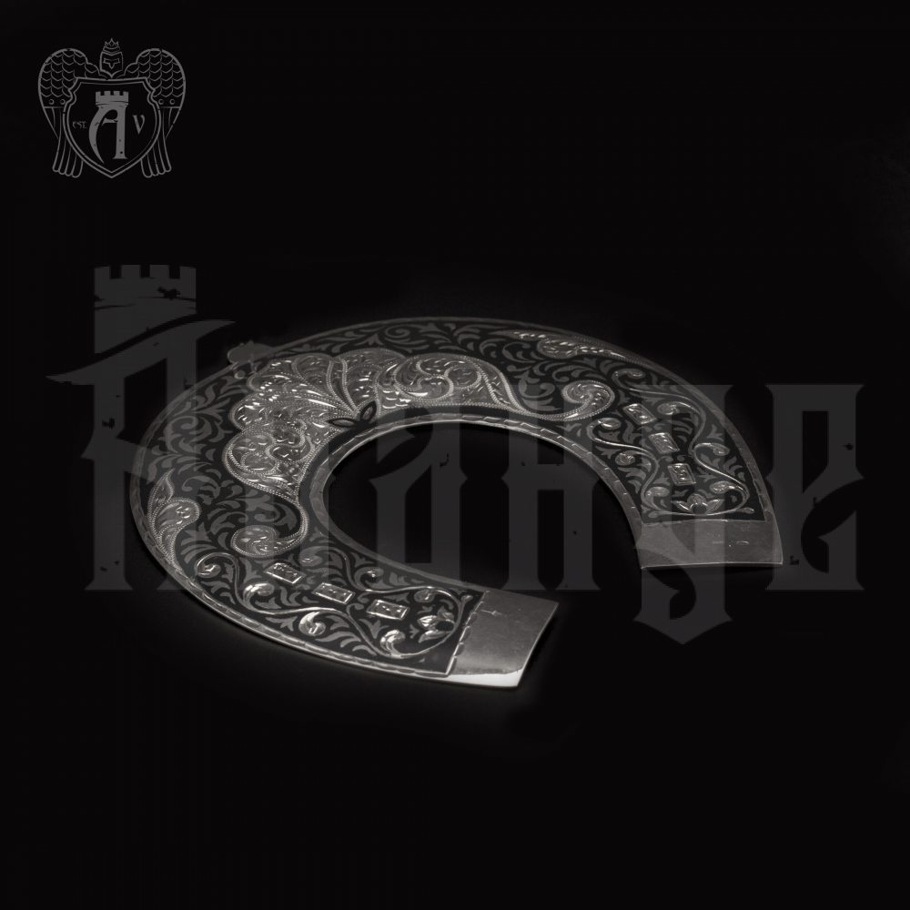 Серебряная подкова «Счастье в дом» Апанде, 4400013