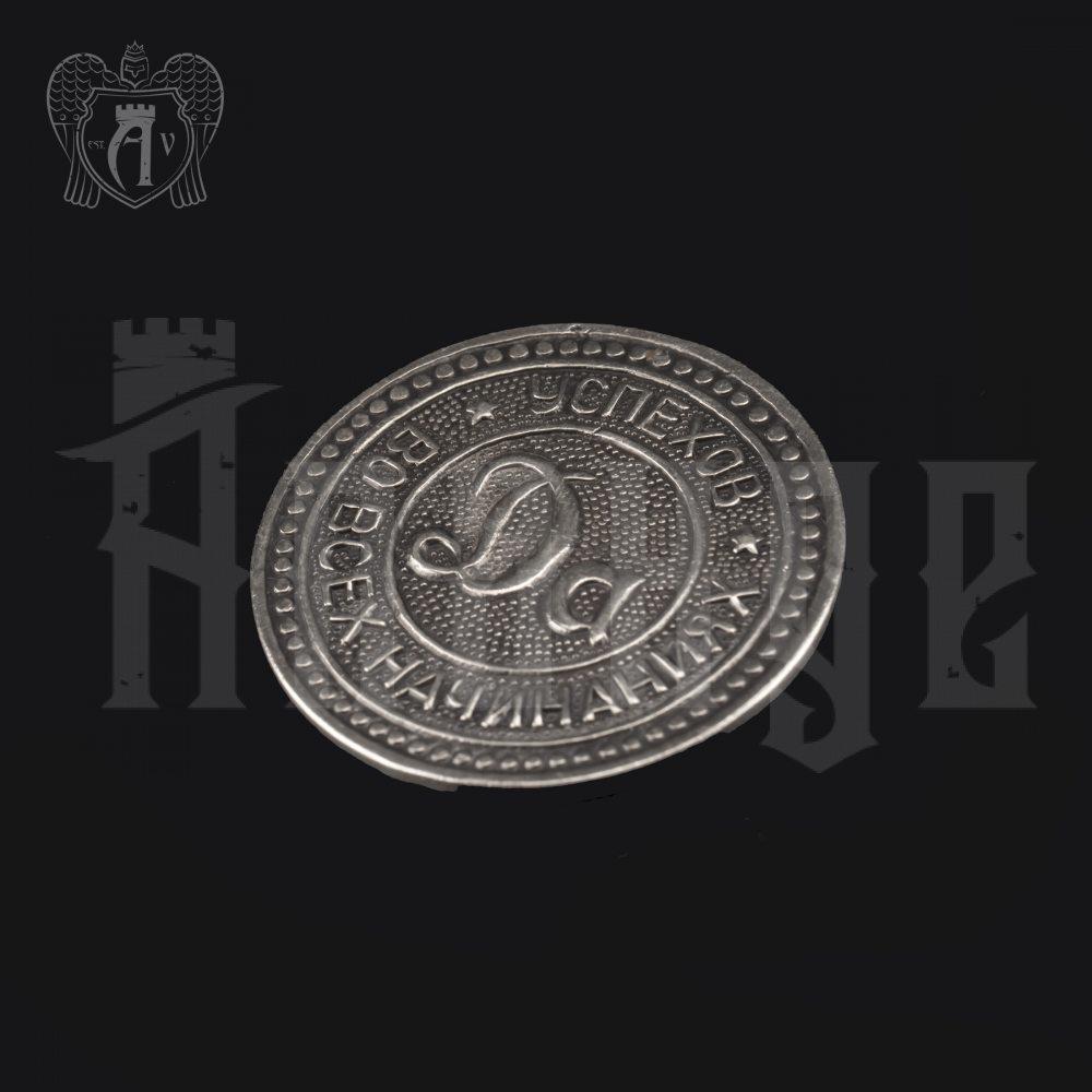 Монетка из серебра «Да / Нет» Апанде, 70001