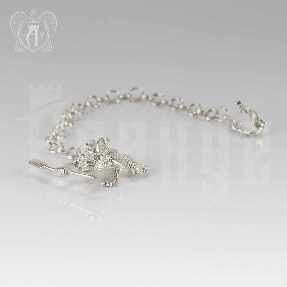 Ионизатор серебряный «Царевна лягушка» Апанде, 960019