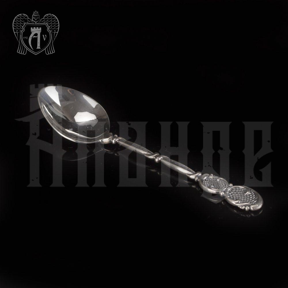 Серебряная чайная ложка  «Милена» Апанде, 230001224