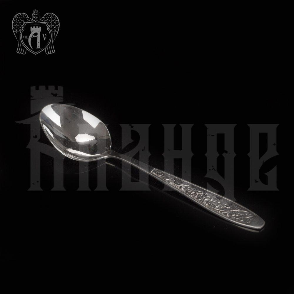 Серебряная чайная ложка  «Рапсодия» Апанде, 230001225