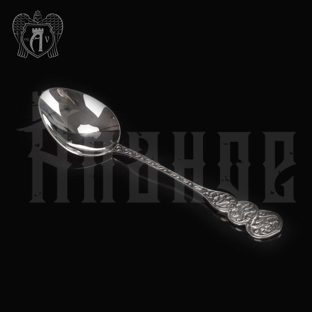 Серебряная чайная ложка  «Графская» Апанде, 230001228
