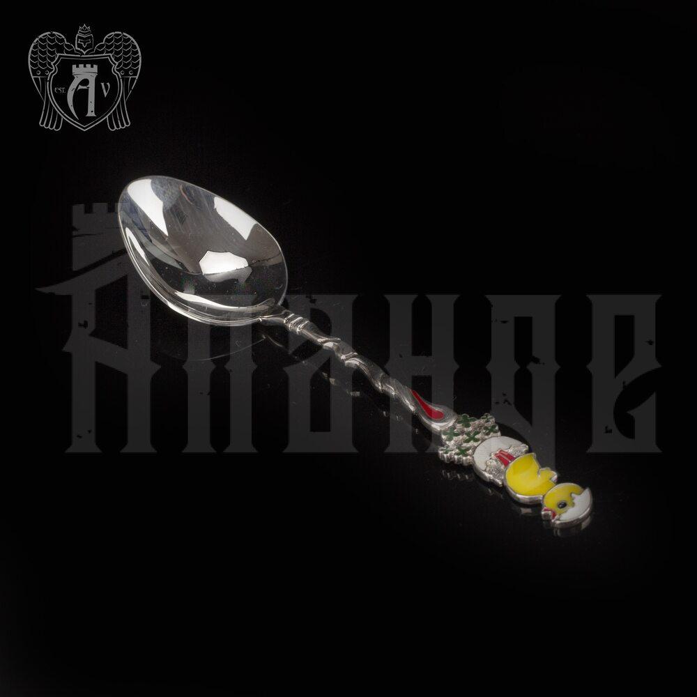 Серебряная ложка  «Цыпленок» Апанде, 230001225