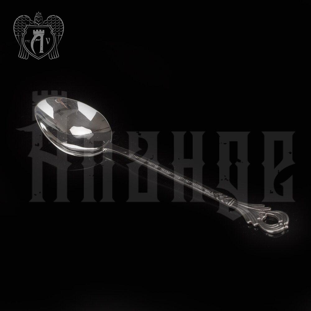 Серебряная чайная ложка  «Чайная» Апанде, 230001230