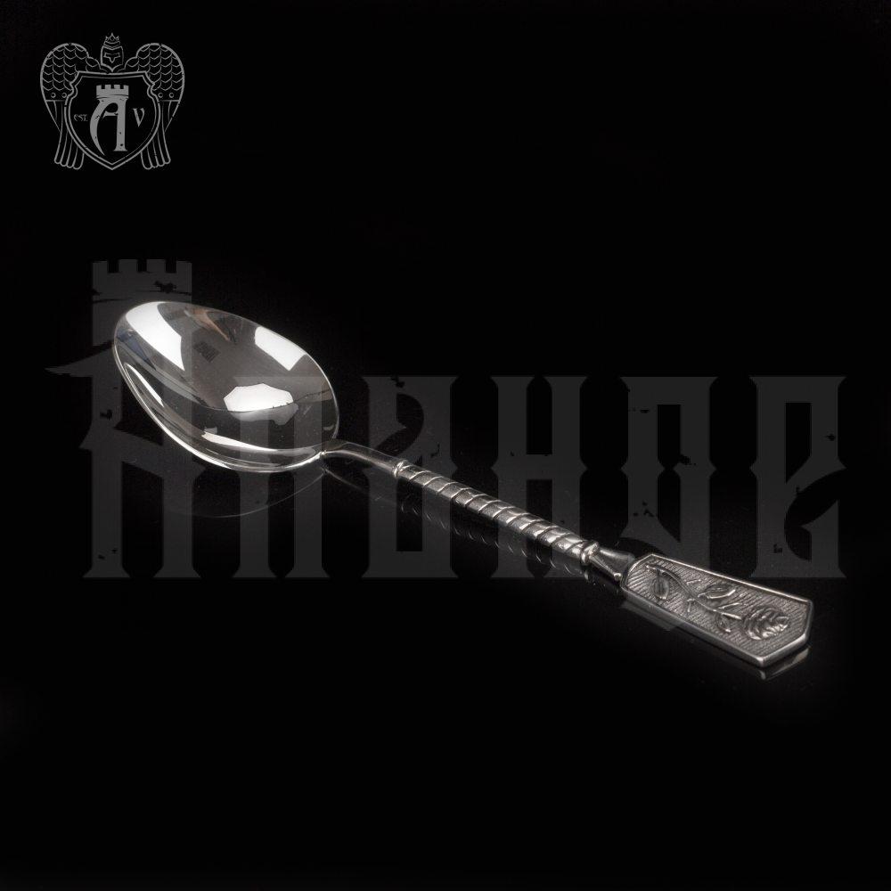 Серебряная чайная ложка  «Роза» Апанде, 230001231