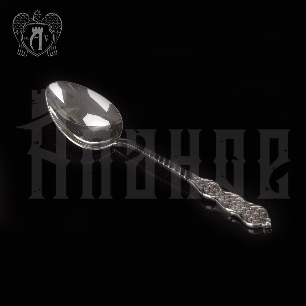 Серебряная чайная ложка  «Виола» Апанде, 230001226