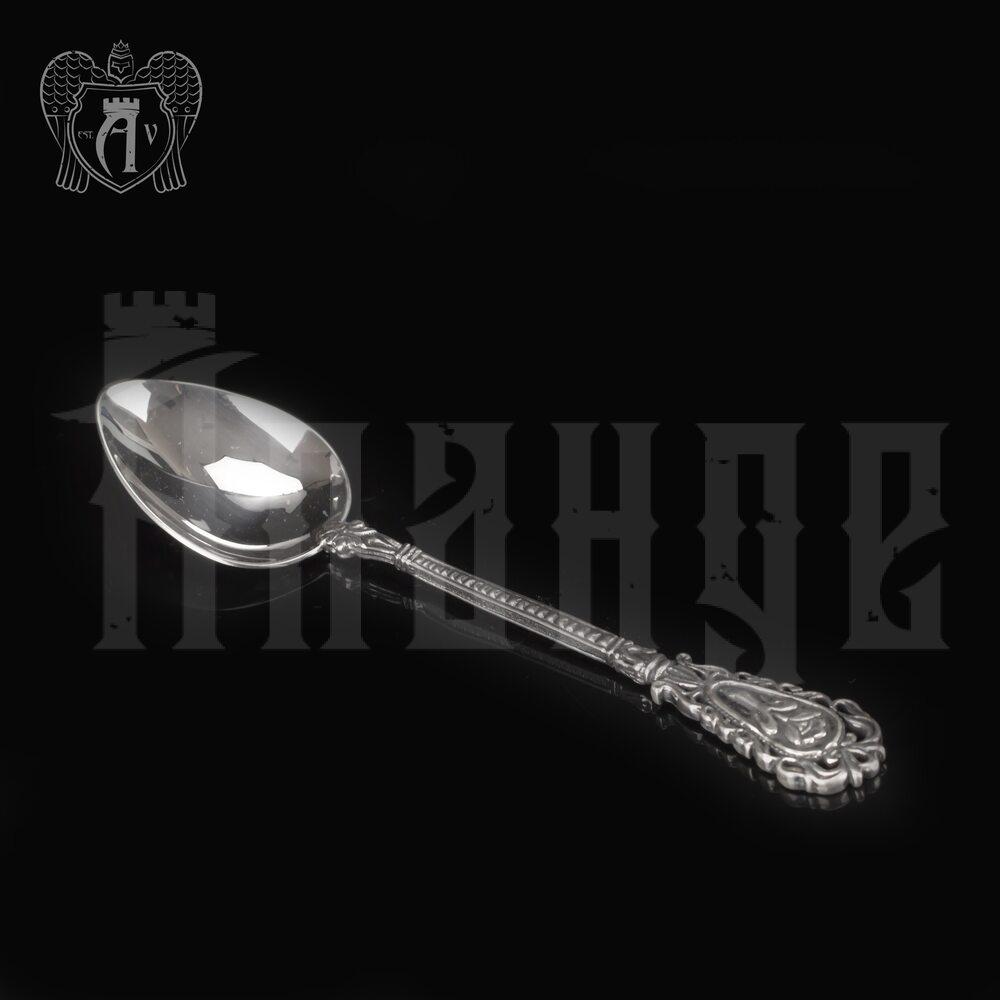 Серебряная чайная ложка  «Тюльпан» Апанде, 230001233