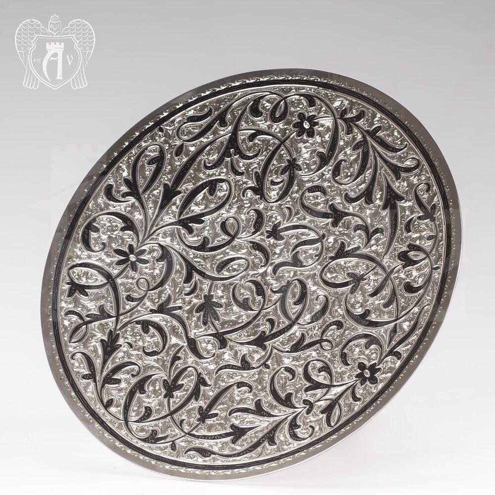 Блюдо из серебра «Маркиза» Апанде, 770009