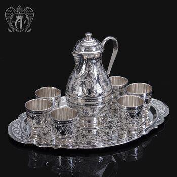 Набор из серебра для напитков «Горный ручей»