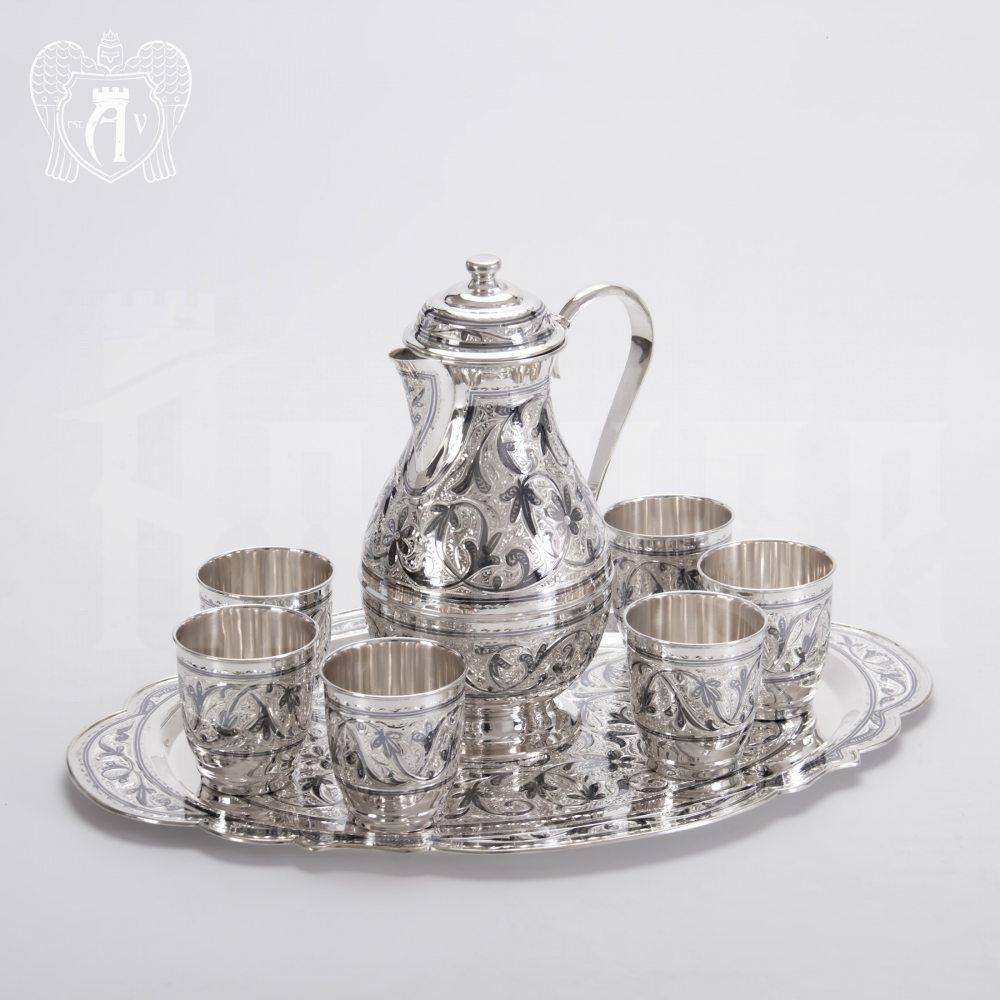Набор из серебра для напитков «Горный ручей» Апанде, 1110006156