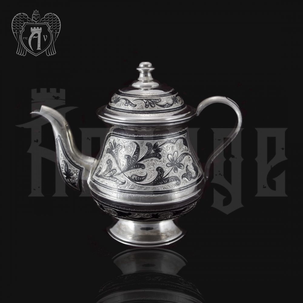 Серебряный чайник «Мархарай» Апанде, 250008