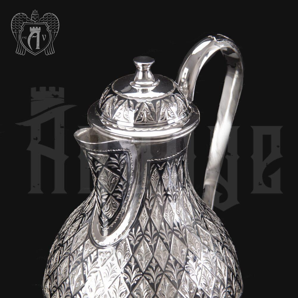 Серебряный кувшин маленький «Княжеский» Апанде, 54000127