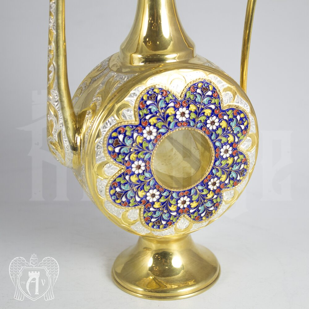 Серебряный кувшин для коньяка «Султанский» Апанде,