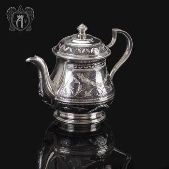 Серебряный чайник «Традиция»