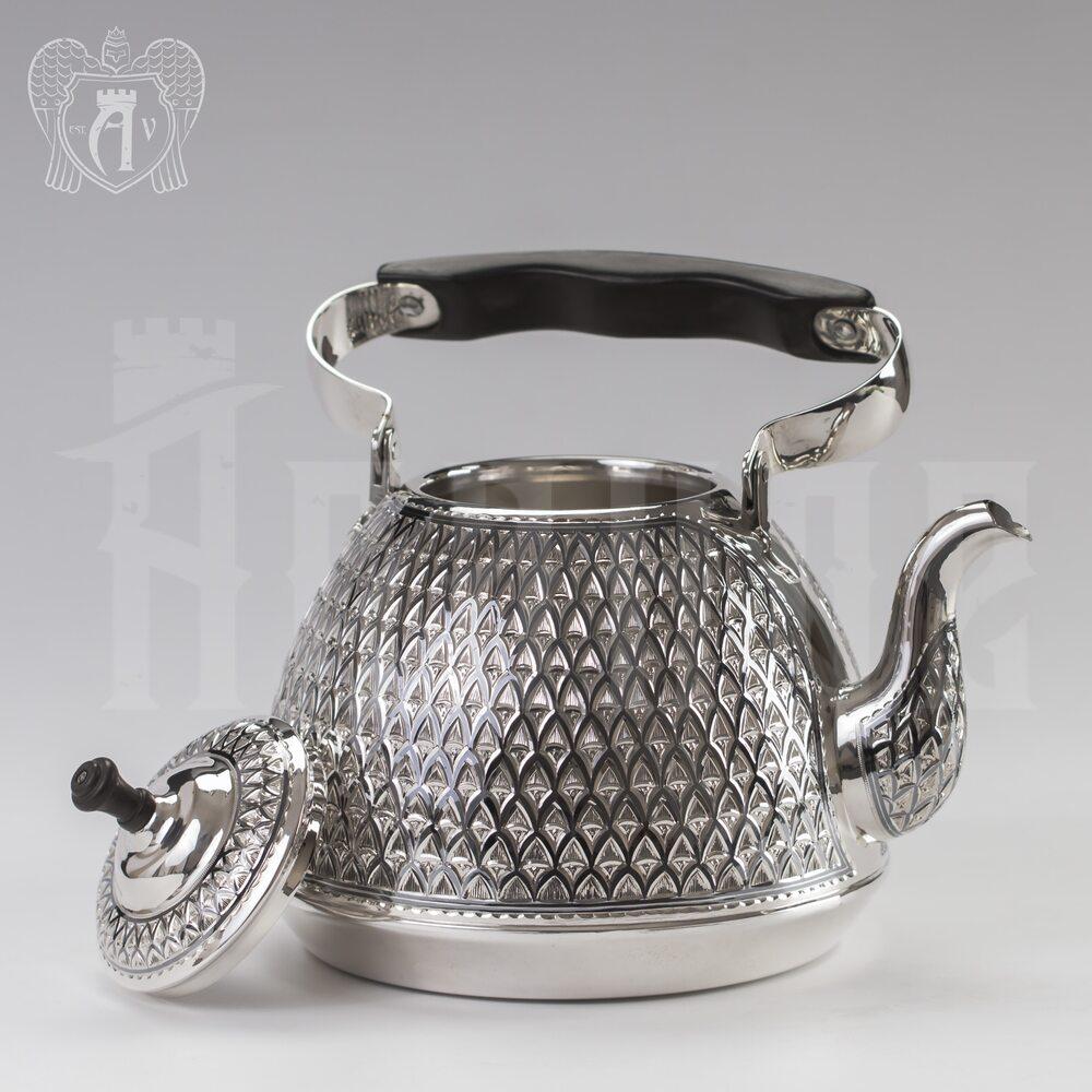 Серебряный чайник для кипячения «Восход» Апанде, 2500033