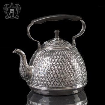 Серебряный чайник для кипячения «Восход»