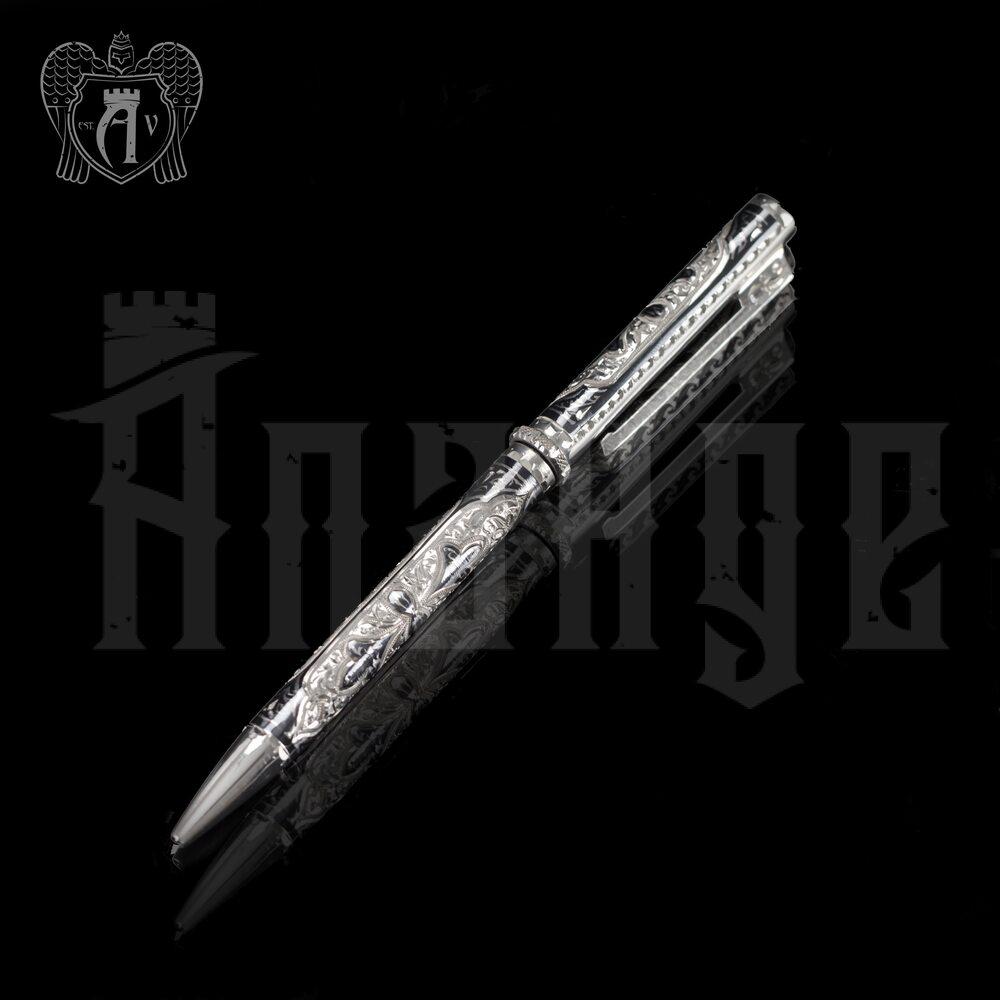 Ручка серебряная «Авиатор» Апанде, 13003216