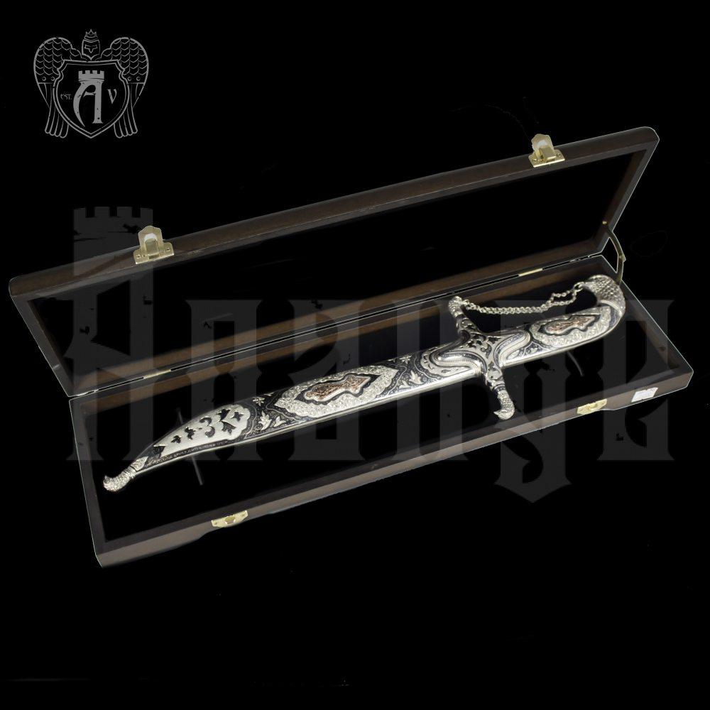 Серебряная финка «Доблесть»  Апанде, 4500046