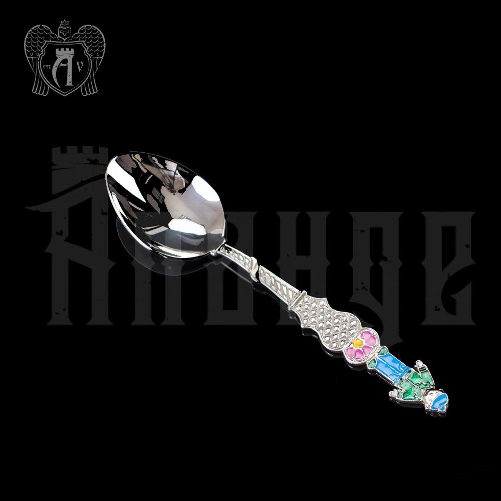 Серебряная чайная ложка  «Мальчик 2» Апанде, 230001231
