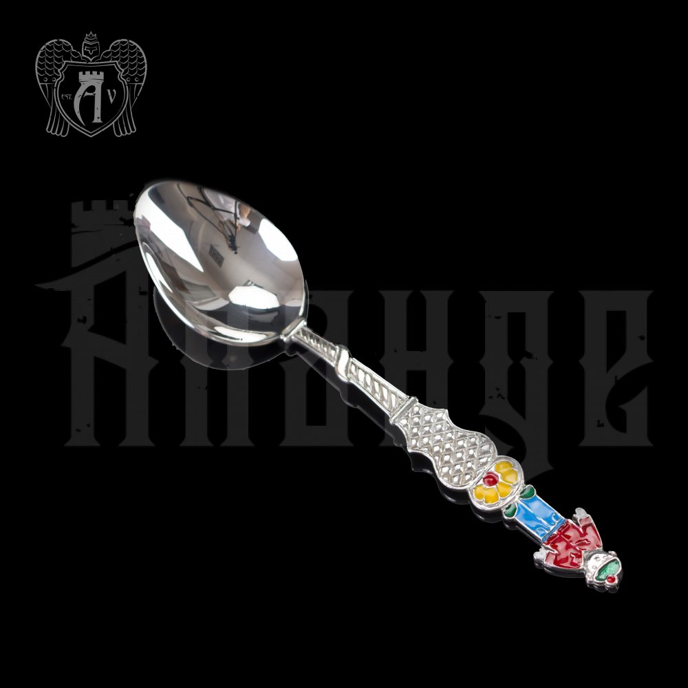 Серебряная чайная ложка  «Мальчик 3» Апанде, 230001232