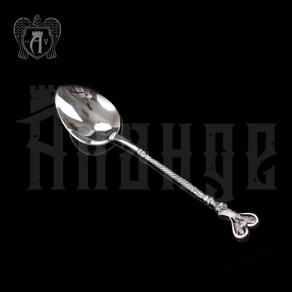 Серебряная чайная ложка  «Ангел Хранитель» Апанде, 230001232