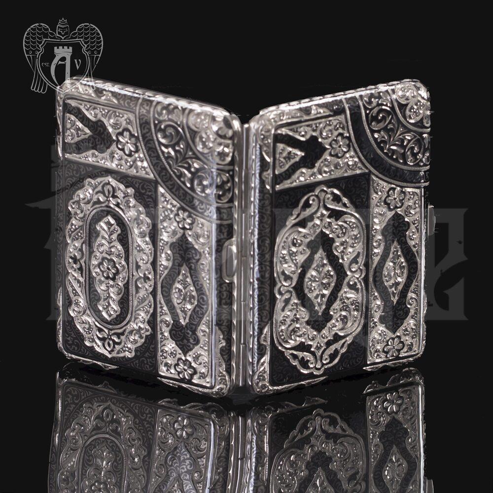 Серебряный портсигар «Дон» Апанде, 53000564