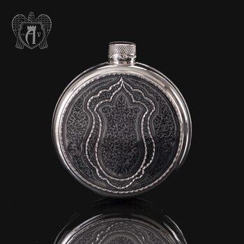 Серебряная фляжка «Магнат»