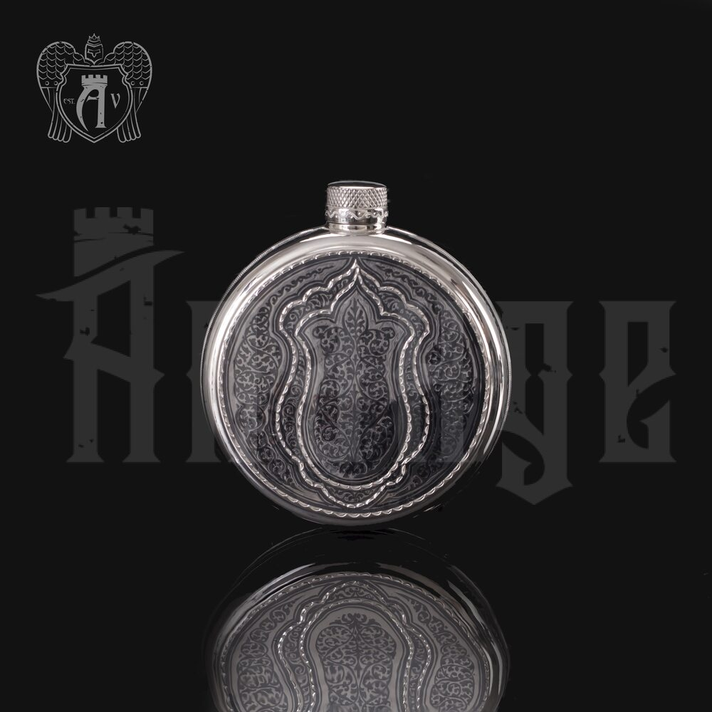 Серебряная фляжка «Магнат» Апанде, 72000194