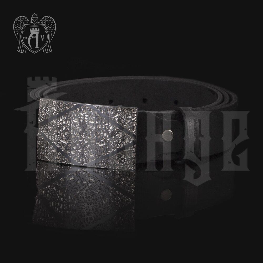 Серебряный ремень «Меценат» Апанде, 88800137