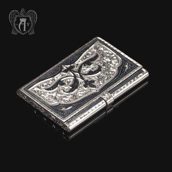 Визитница серебряная «Авантаж»