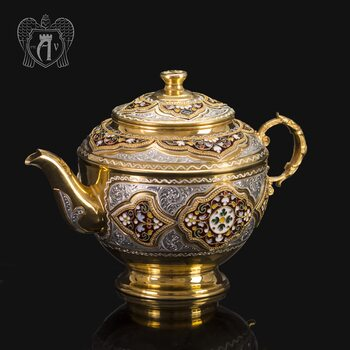 Чайник серебряный заварочный «Версаль»