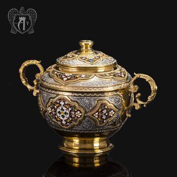 Серебряная сахарница «Версаль»
