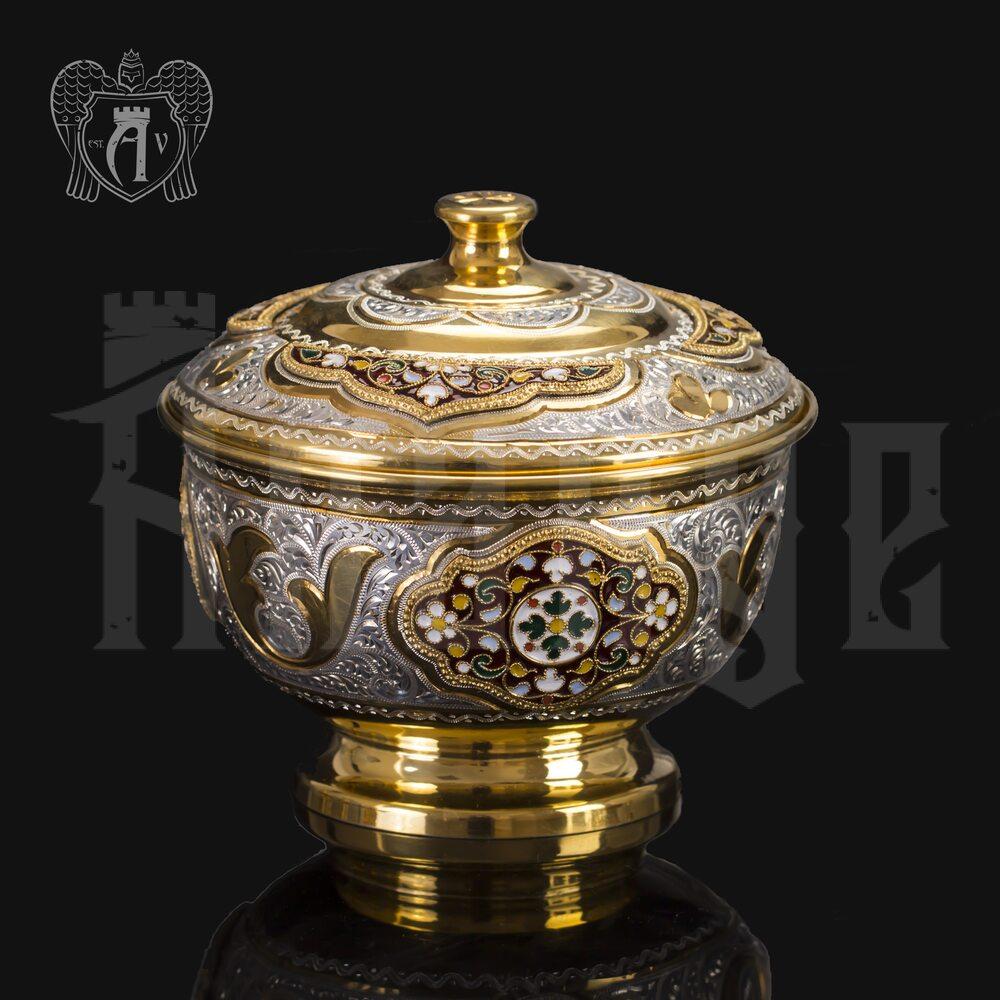 Серебряная вареньица «Версаль» Апанде, 340008