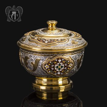 Серебряная вареньица «Версаль»