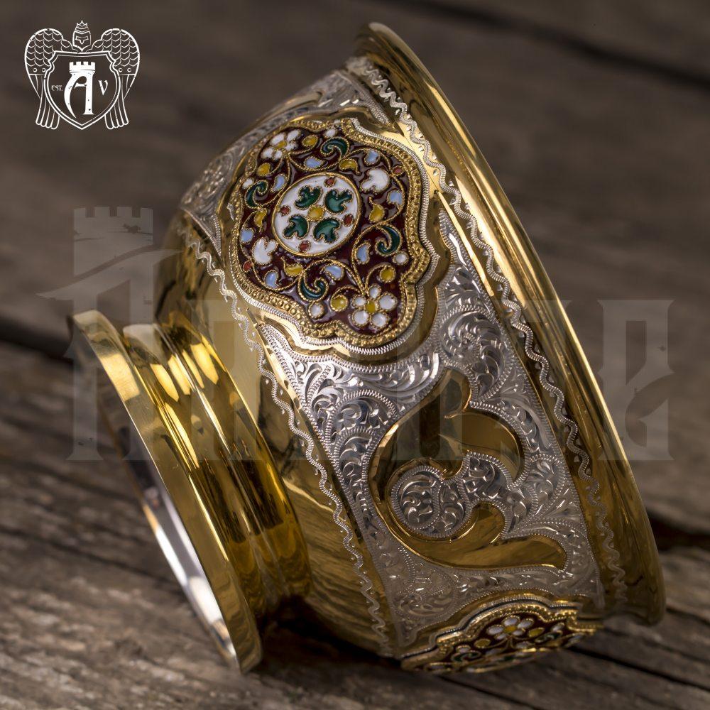 Серебряная вареньица\сахарница «Версаль» Апанде, 3400011