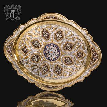 Серебряный поднос «Версаль»