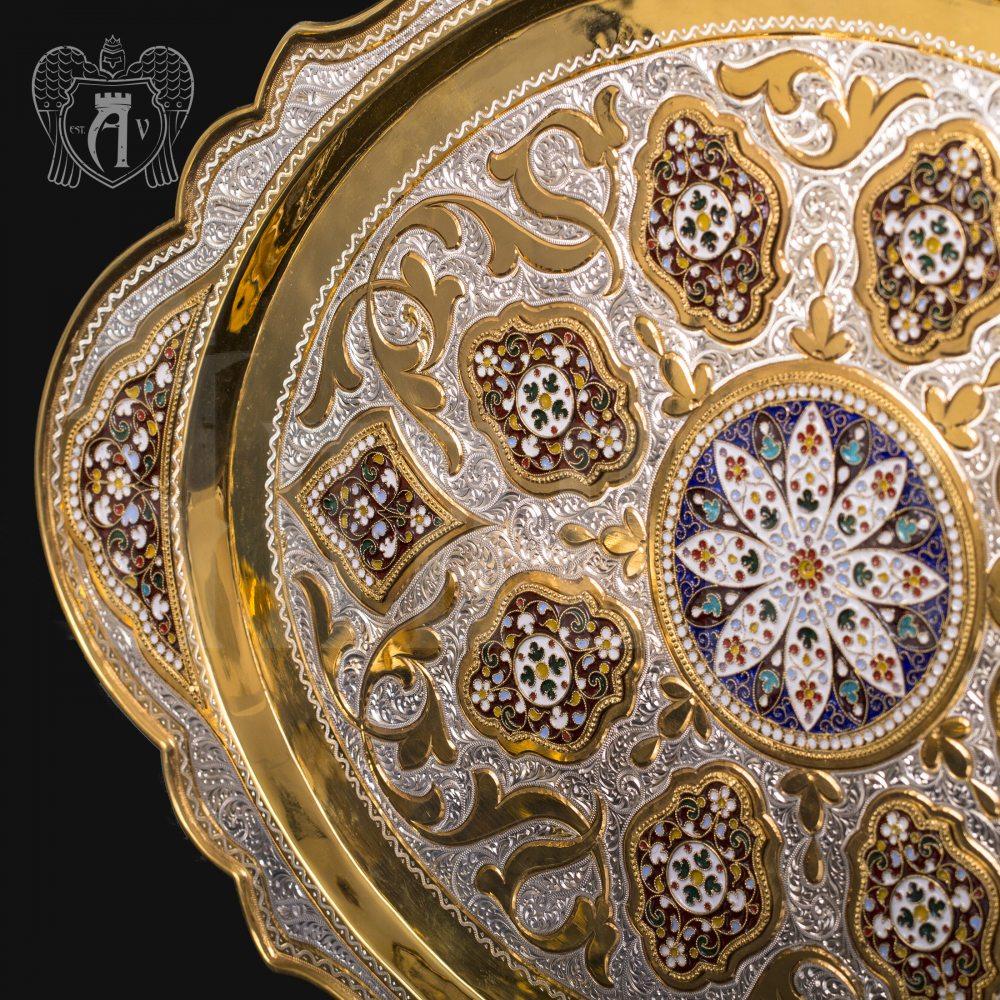 Серебряный поднос «Версаль» Апанде, 770009