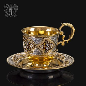 Серебряная чайная пара «Версаль»