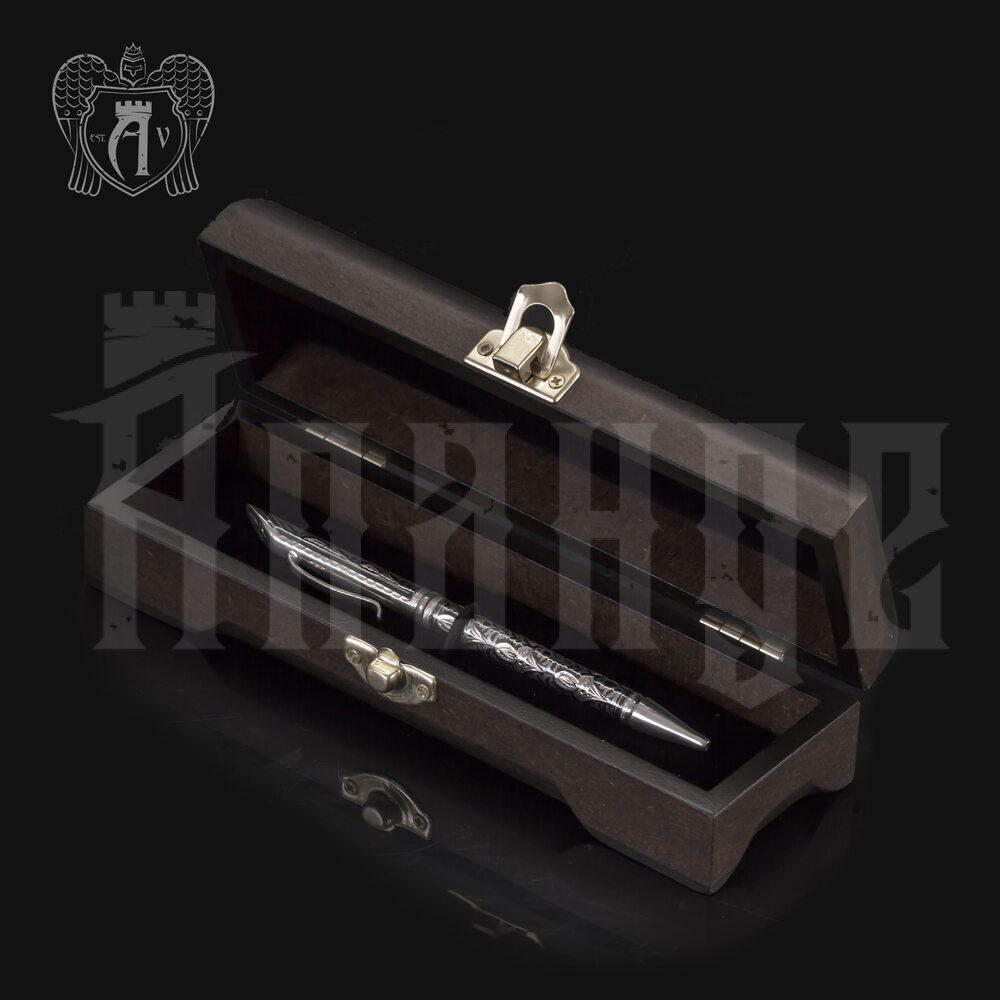 Ручка серебряная «Классика» Апанде, 13003217