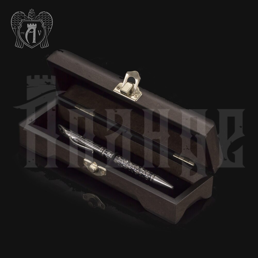 Ручка серебряная «Меценат» Апанде, 13003221
