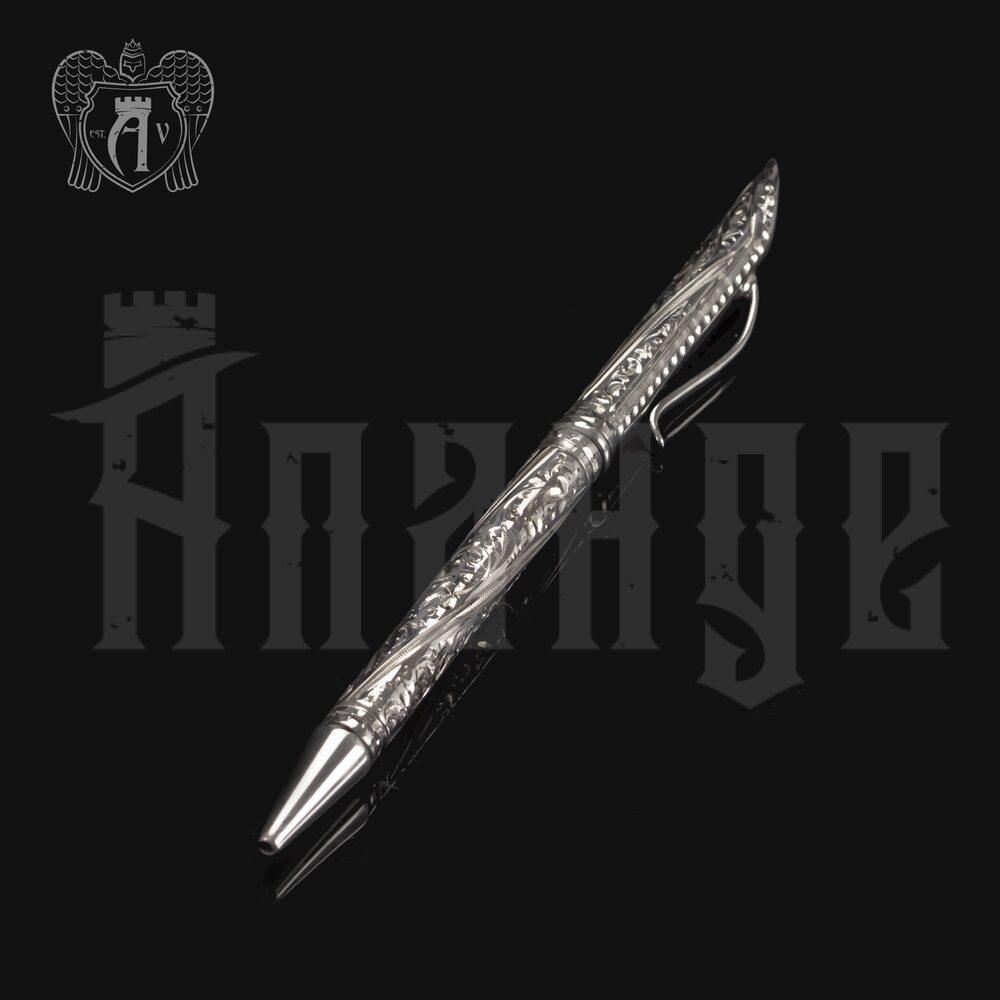 Ручка серебряная «Джентльмен» Апанде, 13003220