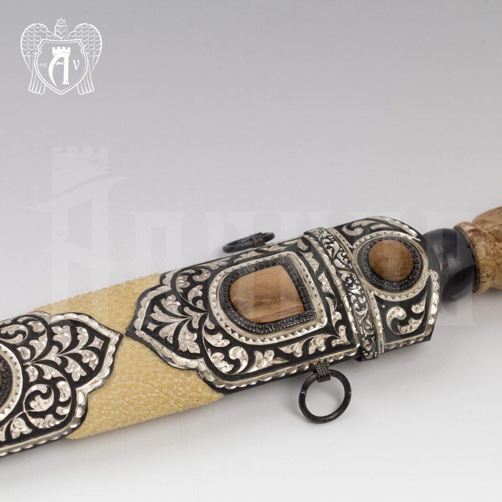 Кинжал из серебра  «Мамонт» Апанде, 4500053