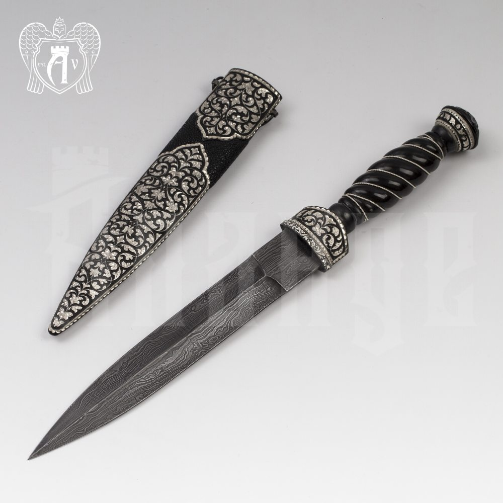 Кинжал из серебра  «Брутал» Апанде, 4500054