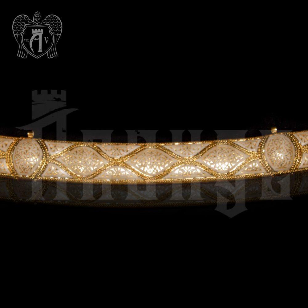 Сабля из серебра «Дагестан» Апанде, 4500060