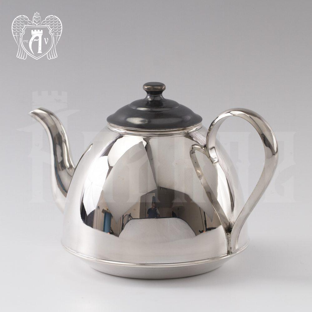 Серебряный чайник «Сияние» Апанде, 250004