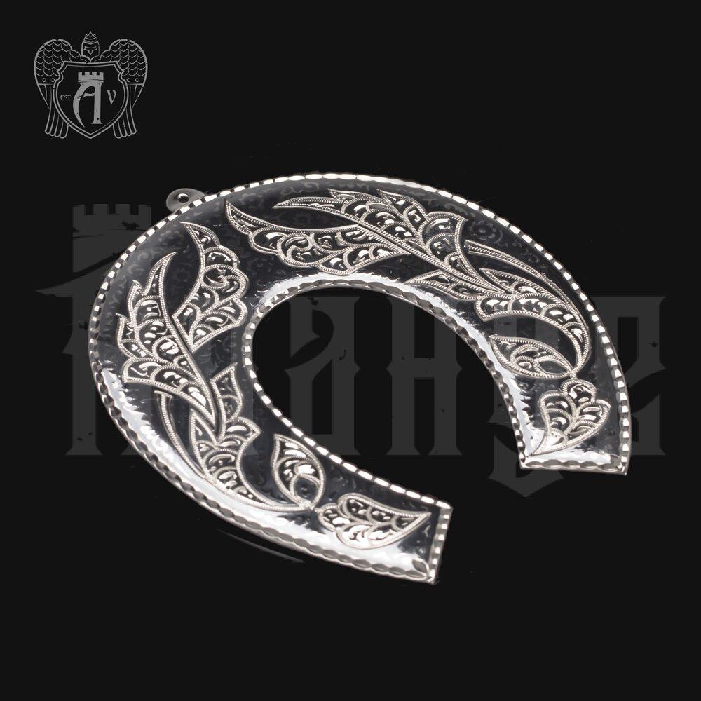 Серебряная подкова «Оберег» Апанде, 4400017