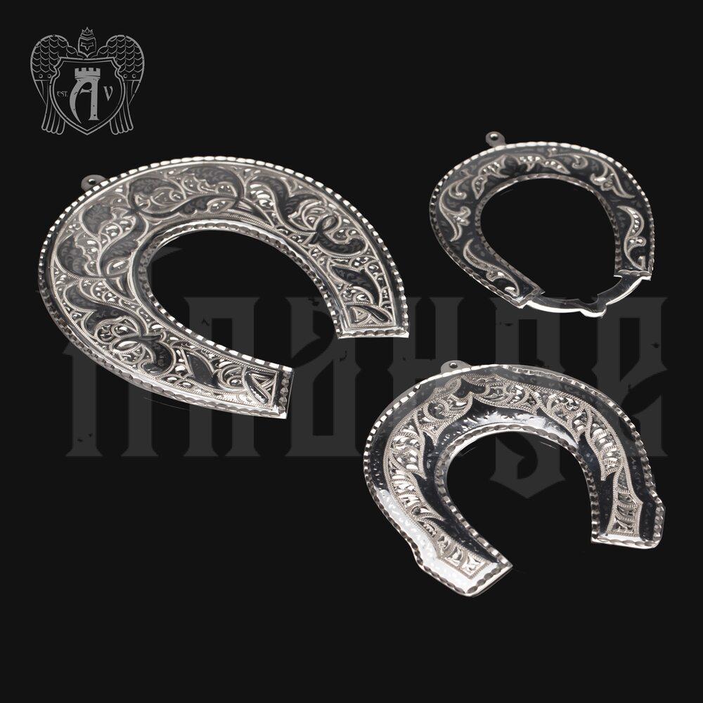 Серебряная подкова «Домашний оберег» Апанде, 4400020